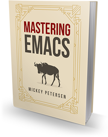 Image of the Mastering Emacs eBook cover